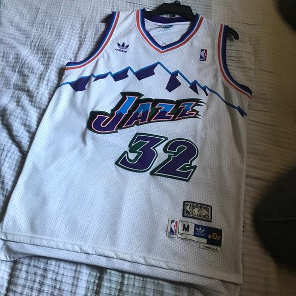 bc9b18ffe90 adidas Other - Karl Malone Utah Jazz Jersey  HARDWOOD CLASSICS